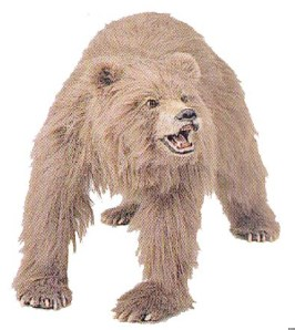 animatronic bear